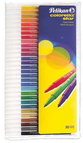 Pelikan colorella star Fasermaler 30er Set