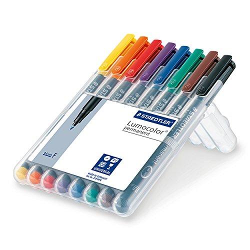 Staedtler Lumocolor permanent/Set mit 8 Farben