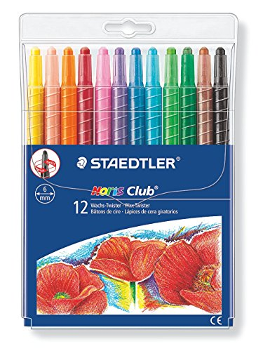 staedtler noris club wachs twister wachs malstifte set. Black Bedroom Furniture Sets. Home Design Ideas