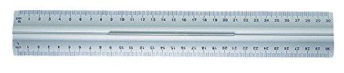 Wedo Lineal aus Aluminium 30 cm mit Griff