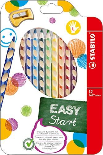 Stabilo EASYcolors Ergonomischer Buntstift12er Pack