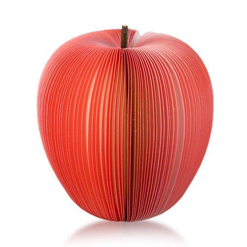 Sonline Haftnotizen Apfel, 140 Blatt