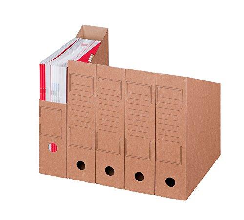 Smartbox Pro Archiv Stehsammler, 20er Pack, braun
