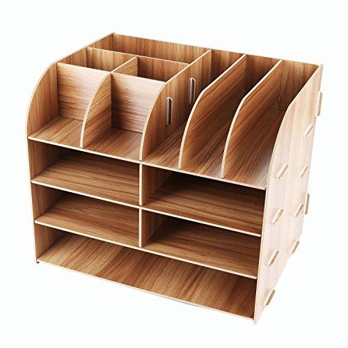 Lesfit Schreibtischorganizer Holz