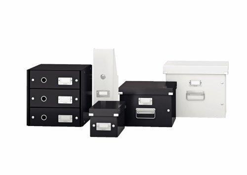 Leitz, Schubladenbox, Weiß, 4 Schubladen, A4, Click & Store, 60490001 - 3