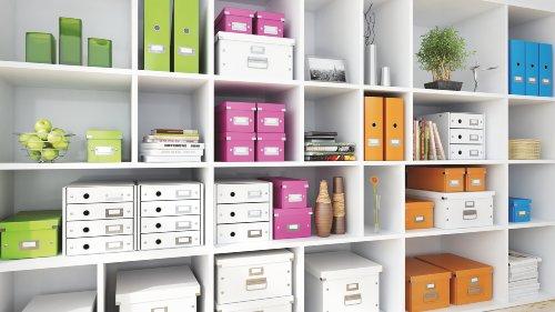 Leitz, Schubladenbox, Weiß, 4 Schubladen, A4, Click & Store, 60490001 - 4