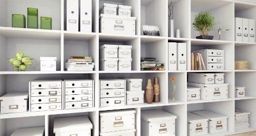 Leitz, Schubladenbox, Weiß, 4 Schubladen, A4, Click & Store, 60490001 - 5