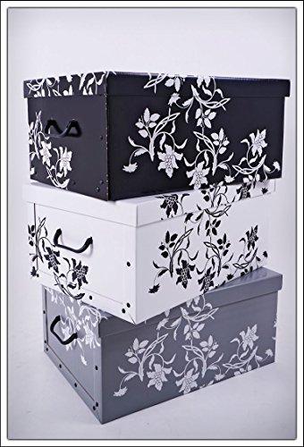 3er Set Aufbewahrungsbox in 3 Farben