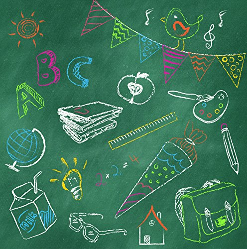 20 Servietten Blackboard ABC - 33x33cm