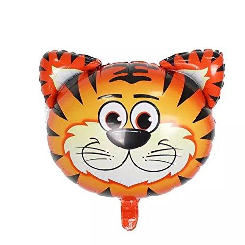 PINK SNAKE 6 Stück Folienballon Tier für Kinder Geburtstag Party Dekoration,zufällig - 3
