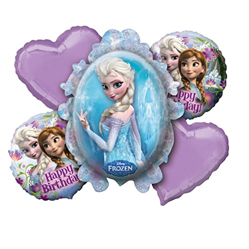Folienballonset Frozen, 5-teilig