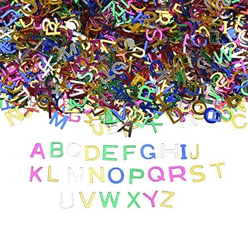 ABC Buchstaben Konfetti [7000pc]  Streudeko