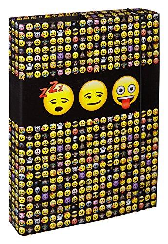 Undercover EMTU0940 - Heftbox Emoji A4