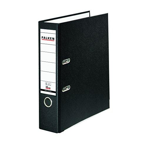 Falken PP-Color Kunststoff Ordner DIN A4 schwarz