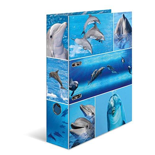 Herma Karton Motivordner Design Delfine DIN A4