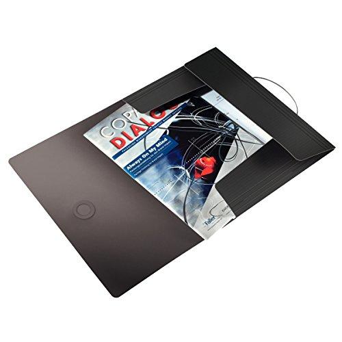 Leitz 45631095 Solid Eckspannermappe PP A4, schwarz - 2