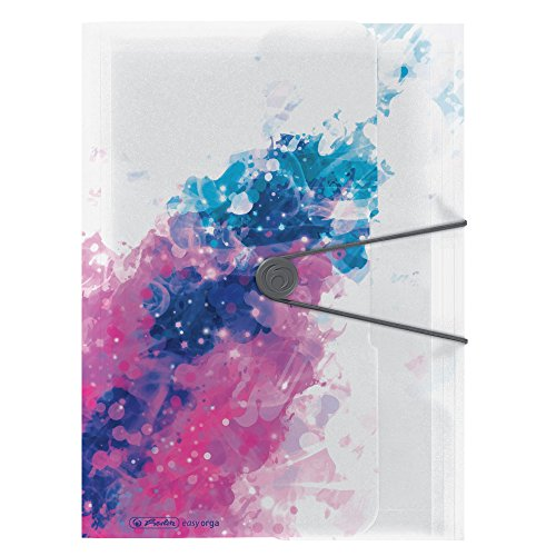 Herlitz Gummizugmappe Color Splash, A4