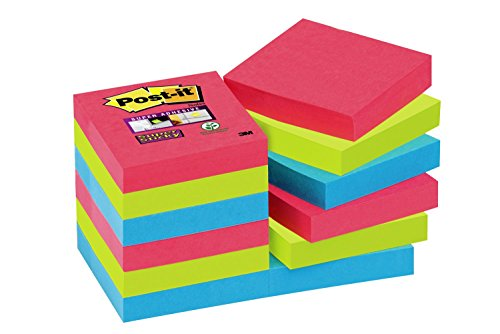Post-it Haftnotiz Super Sticky Notes (47.6 x 47.6 mm)