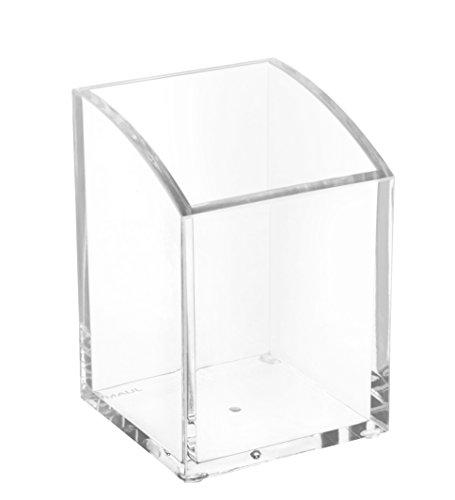Maul Acryl-Stifteköcher, 1-fach, Glasklar