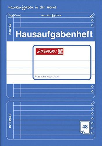 Hausaufgabenheft BRUNNEN 48 Blatt / DinA5