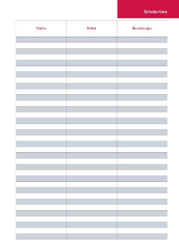 OXFORD 400106347 Lehrerkalender Kalendarium 2018/2019 Format DIN A4 Spiralbuch Ringblock in dunkelblau Planer für Lehrer - 5