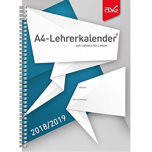 A4 Lehrerkalender von Lehrern für Lehrer 2018/2019