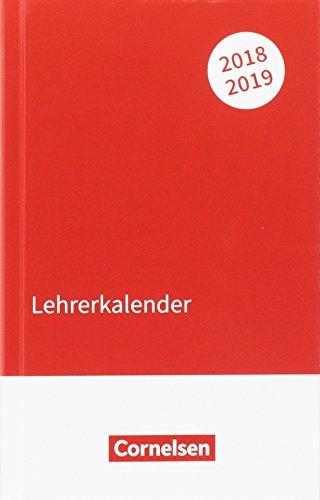 Lehrerkalender 2018/2019: Taschenformat
