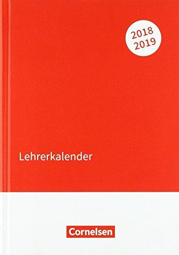 Lehrerkalender 2018/19: DIN A5(14,8 cm x 21 cm)