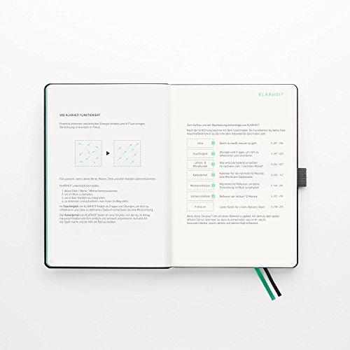 KLARHEIT ® | Life-Coach + Kalender | Der A5-Organizer für mehr Überblick, Struktur und Fokus im Alltag | Selbstcoaching-Tool, Wochenplaner für Termine, Notizbuch | (undatiert, beginne jederzeit) - 3