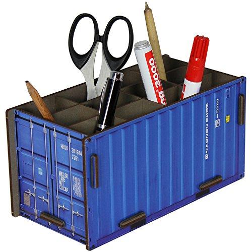 Werkhaus Container Penbox blau