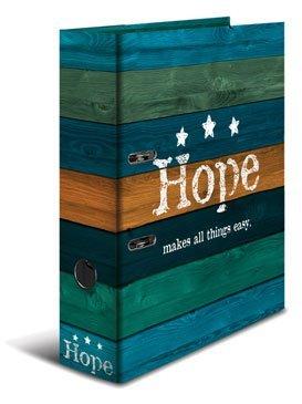 Motivordner DIN A4 / 80mm breit / Hope