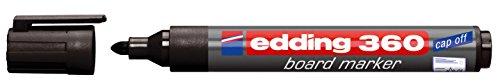 Whiteboardmarker edding 360, nachfüllbar, schwarz