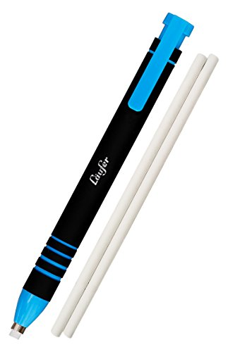 Läufer Radierstift blau, inkl. 2 Ersatzradierer