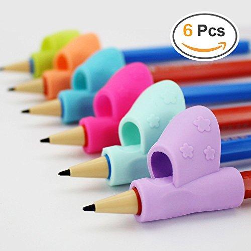 Schreibhilfe Grip Haltungskorrektur Werkzeug 6 Teile / satz