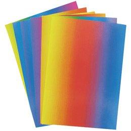 Folia Buntpapier, Ton-, Waben-, Regenbogenpapier