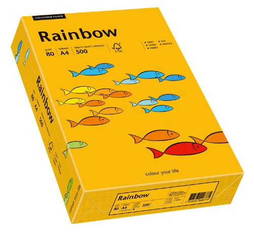 Papyrus Multifunktionspapier Rainbow mittelorange