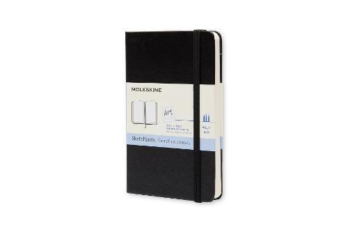 Moleskine Skizzenbuch Pocket, Hardcover schwarz
