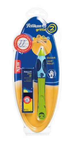Pelikan 964609 Bleistift Griffix für Rechtshänder, grün -