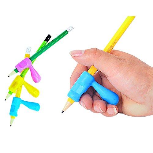 SwirlColor Bunte weiche Silikon Bleistift Griffe (3er Set)