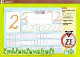 "Zahlenlernheft Landre A4/16 ""ZL"""