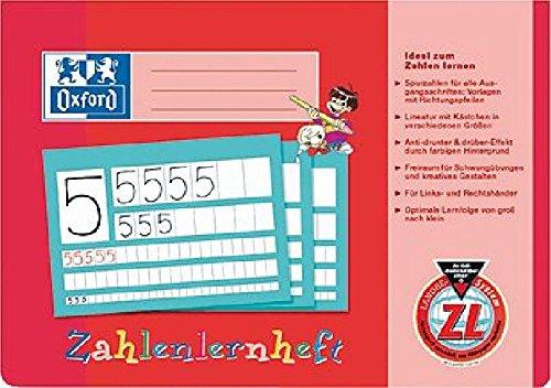 Zahlenlernheft, A4 quer, ZL, 16, abwischbarer Deckel