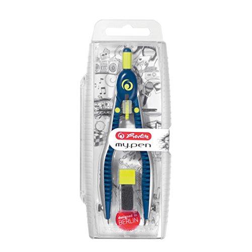 Herlitz Schnellverstellzirkel my.pen blau/lemon