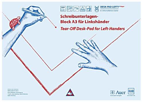 KUM Schreibunterlage - A3, Papier, Linkshänder