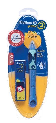 Pelikan 928135 Bleistift Griffix Blau (Bluesea) für Rechtshänder -
