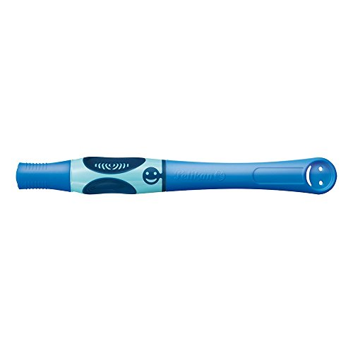 Pelikan 928051 Tintenschreiber Griffix Blau (Bluesea) für Rechtshänder -