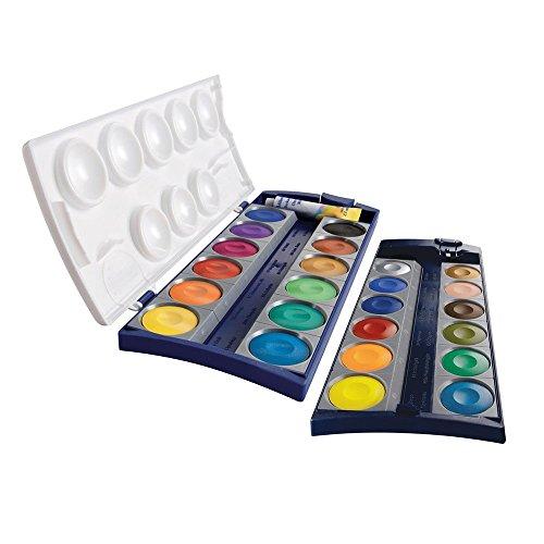 Pelikan Deckfarbkasten K24, 24 Qualitätsfarben