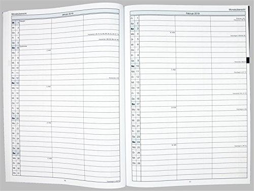 Flöttmann A4 Planer Kreativ - Kalender für Lehrerinnen und Lehrer 2018 - 2019 - Lehrerkalender creativ - Schulplaner - 6