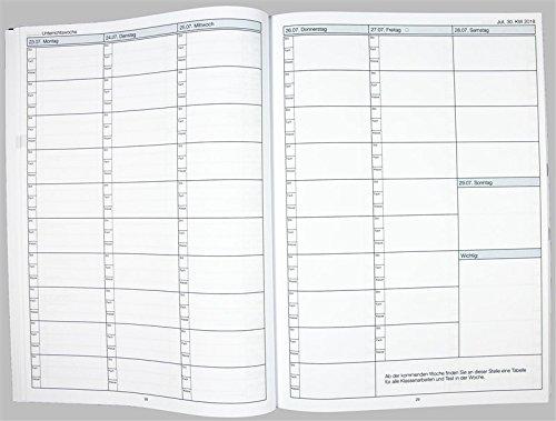 Flöttmann A4 Planer Kreativ - Kalender für Lehrerinnen und Lehrer 2018 - 2019 - Lehrerkalender creativ - Schulplaner - 7