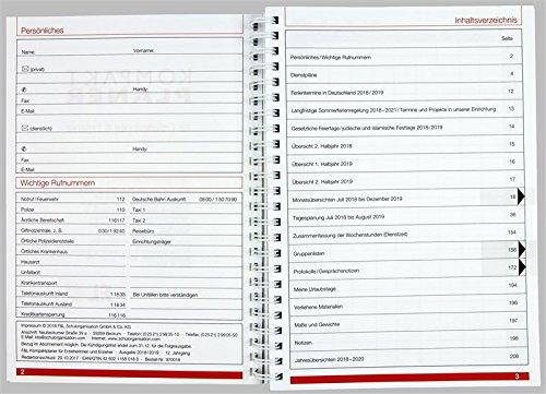 Flöttmann Kompaktplaner für Erzieherinnen und Erzieher 2018 - 2019 - A5 Kalender - Kita-Planer - 3
