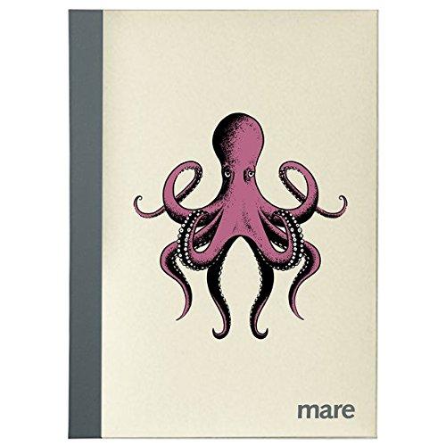 mare Notizheft Oktopus, liniert